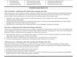 Sales Resume Bullet Points 100 Resume Bullets Free Sample Resume Thebridgesummit Co