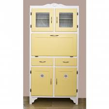 Vintage Metal Kitchen Cabinet Enamel Painted Home by Yellow Retro Kitchen Cupboard Retro Fun Pinterest Kitchen