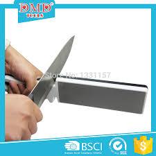 Sharpening Kitchen Knives 400 1000 Grits Double Side Diamond Ceramic Knife Sharpening Stone