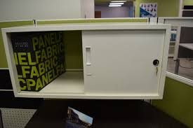 Office Storage Cabinets With Sliding Doors Overhead Storage Open Plan Systems