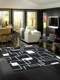 Large Black Area Rug Fancy Large Black And White Rug Classof Co