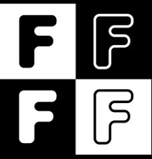 letter f design template royalty free vector image