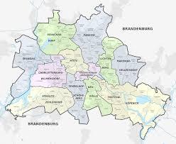 Map Of New York City Neighborhoods by Map Of Berlin 12 Boroughs Bezirke U0026 Neighborhoods