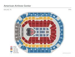 pepsi center floor plan seating maps american airlines center