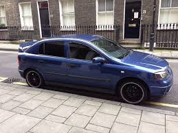 vauxhall astra g mk4 blue very reliable car quick sale as must