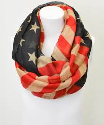 Black And Red Flag Country Black U0026 Red American Flag Infinity Scarf Something Special Every