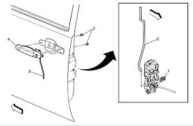 2007 cadillac escalade door handle replace outside door handle left side 2007 escalade