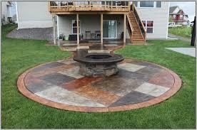concrete patio paint ideas patios home design ideas oj3n18npz4