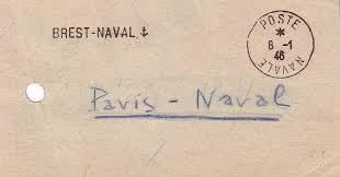 le bureau brest la poste aux armees le bureau naval n 85 de brest