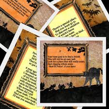 printable halloween scavenger hunt 11 riddles and instructions