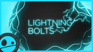 How To Draw A Lightning Bolt Easy Step By Step Tutorial Youtube