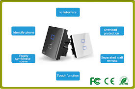 wifi controlled light switch wifi home lighting automation smart light switches remote