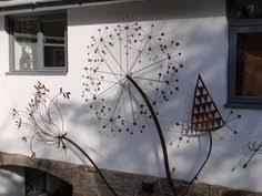 outdoor wall sculpture for gardens поиск в google разное
