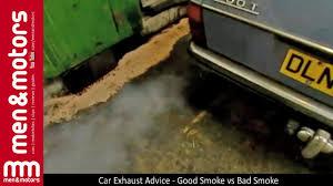 Diesel Tips Meme - car exhaust advice good smoke vs bad smoke youtube