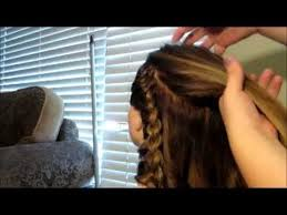 hairstyles for bonded extentions easy side braided hair style with micro loop hair extensions