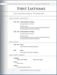Executive Resume Templates Word Fillable Resume Templates Best Business Template