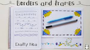 border writing paper borders and frames designs borders for cards school projects borders for cards school projects planner decoration ideas