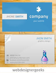 card sample of business card template