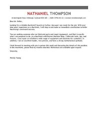 basic resume outline cover letter machinist cover letter exles for production livecareer