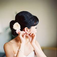 bridal flowers for hair wedding hairstyles with flowers brides