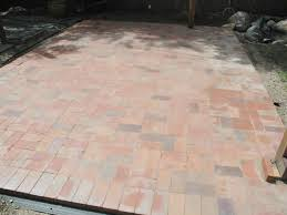 Building A Patio by Attractive How To Build A Patio With Bricks Diy Network Home