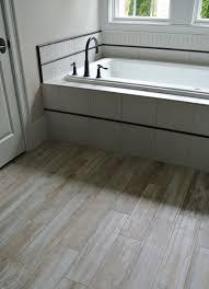 Flooring Ideas For Bathrooms Pebble Tile Bathroom Flooring Ideas Managing The Tile To Wood