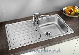 Stainless Steel Kitchen Sinks NEW BLANCO Flex Pro  S - Compact kitchen sinks stainless steel