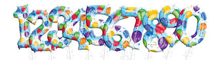 number balloons delivered number balloons birthday balloons party city