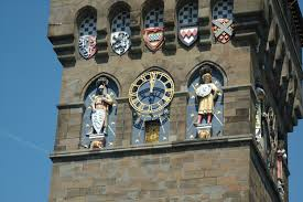 cardiff castle astronomical and astrological statues