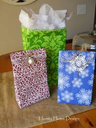 christmas wrap bags homey home design how to make gift bags out of wrapping paper