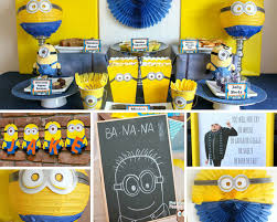 minion ideas birthday in a box despicable me