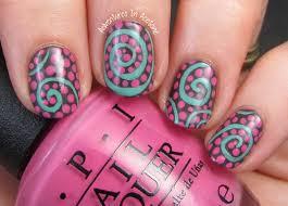 diy professional spring gradient nail art using opi infinite