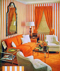 Bright Orange Curtains Modern Interior Design Ideas Celebrating Bright Orange Color