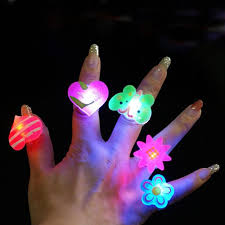 toy finger rings images Novelty led glow light up toy flash cartoon finger ring kids jpg