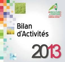 la chambre d agriculture calaméo bilan d activités 2013 de la chambre d agriculture de