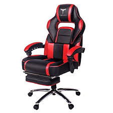reclining gaming desk chair topsky high back racing style pu leather computer gaming office