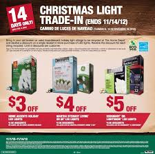 home depot led christmas lights home depot christmas light trade in november 1 14 al com
