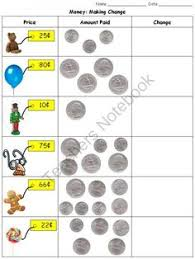 money coins study guide quarter nickel dime penny graphic