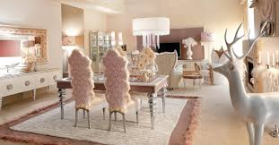 White Pink Living Room by Luxurious Baby Pink And White Dining Area Stylehomes Net