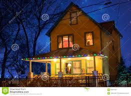 christmas story house editorial photography image 63847207