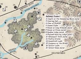 Forgotten Realms Map Ardeep Forest Forgotten Realms Wiki Fandom Powered By Wikia