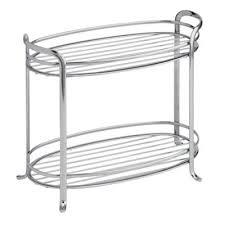 buy chrome bathroom shelves storage from bed bath u0026 beyond