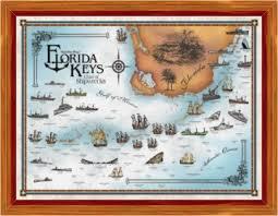 florida shipwrecks map florida shipwrecks treasure wreck directory