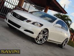 lexus chrome gs savini wheels