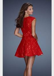 short red formal dresses with sleeves naf dresses