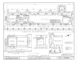 Church Floor Plans by Architectural Drawings California Missions Resource Center