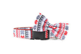 not so ugly christmas sweater dog and cat collar made in canada