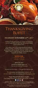 thanksgiving buffet 11 23 2017 national golf club los
