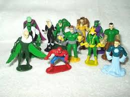 marvel cake toppers 12 x marvel cake toppers mini figures the amazing spider