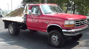 for sale 1995 ford f 350 xlt flat bed dually 4x4 only 113k miles